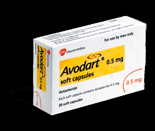 avodart capsules 0,5mg