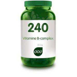 240 Vitamine B Complex 50 mg