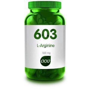 603 L Arginine 500 mg