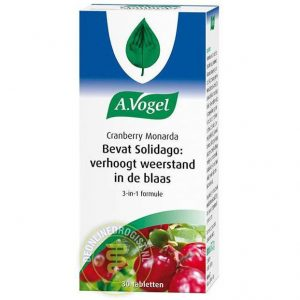 A.Vogel Cranberry Monarda Tabletten 30st