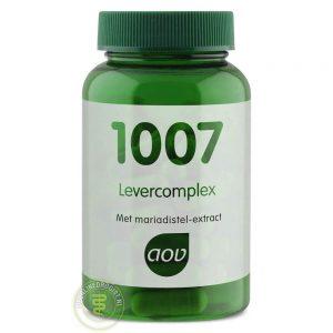 AOV 1007 Levercomplex Capsules