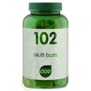AOV 102 Multi Basis Capsules 120st