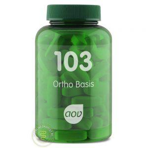 AOV 103 Ortho Basis Tabletten