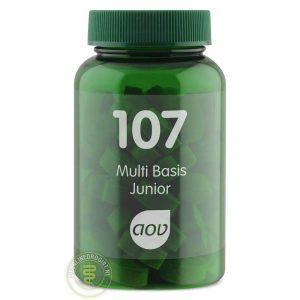 AOV 107 Multi Basis Junior Tabletten 60st