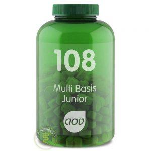 AOV 108 Multi Basis Junior Tabletten 180st