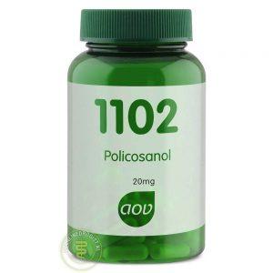 AOV 1102 Policosanol Capsules 60st