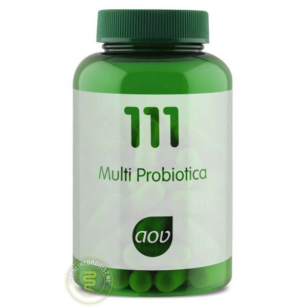 AOV 111 Multi Probiotica Capsules 60st