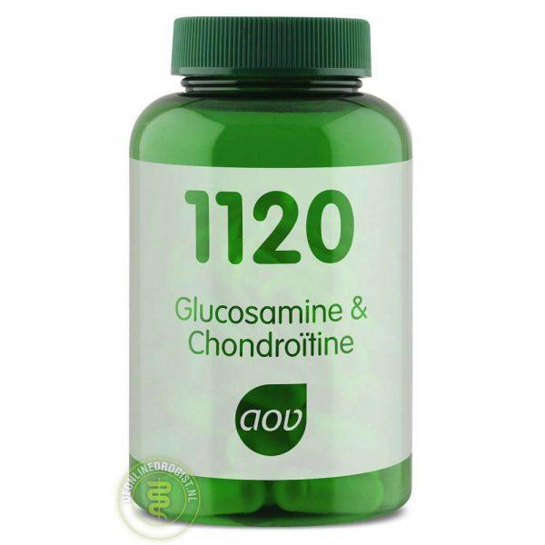 AOV 1120 Glucosamine Chondroitine Capsules 60st