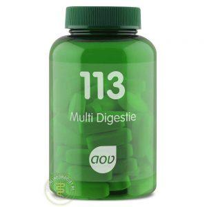 AOV 113 Multi Digestie Tabletten 60st