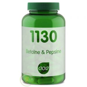 AOV 1130 Betaine & Pepsine Capsules 120st