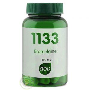 AOV 1133 Bromelaine Capsules 30st