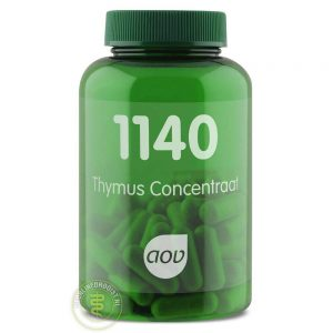AOV 1140 Thymus Concentraat Capsules 60st