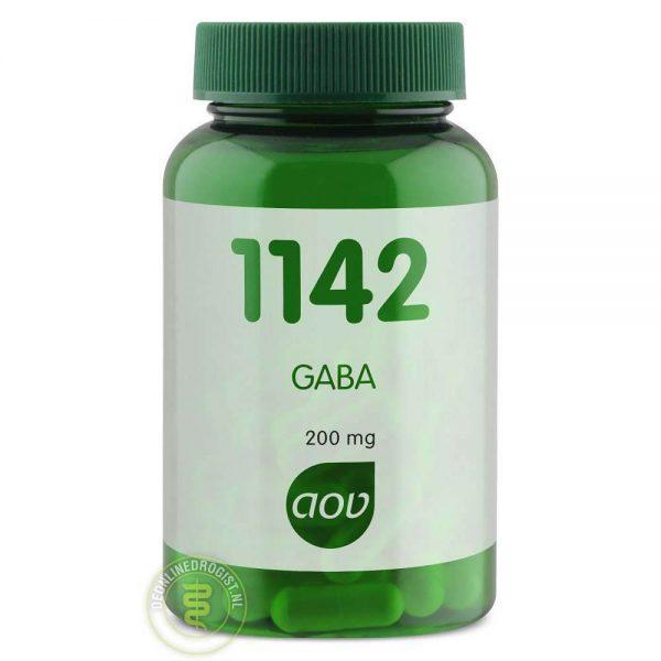 AOV 1142 GABA Capsules 60st