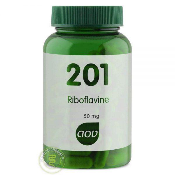 AOV 201 Riboflavine 50mg Capsules 100st