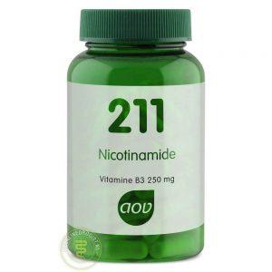 AOV 211 Nicotinamide 250mg Vegacaps 100st