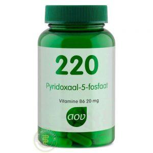 AOV 220 Pyridoxaal-5-fosfaat Capsules