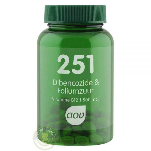 AOV 251 Dibencozide & Foliumzuur Zuigtabletten 60st