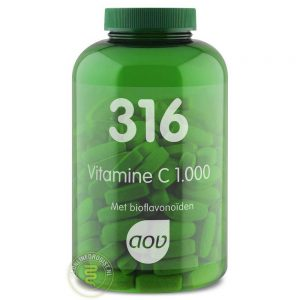 AOV 316 Vitamine C 1000mg Tabletten 180st
