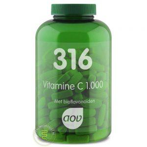 AOV 316 Vitamine C 1000mg Tabletten 180st