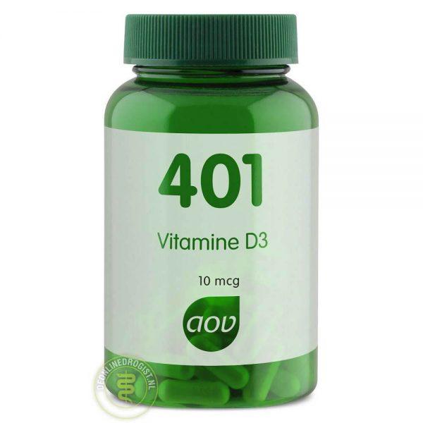 AOV 401 Vitamine D3 Capsules 60st