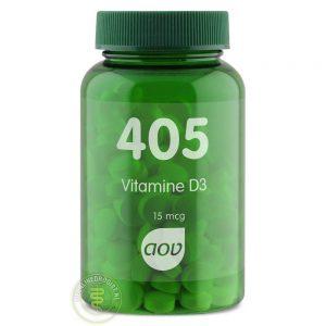 AOV 405 Vitamine D3 15mcg Tabletten 180st