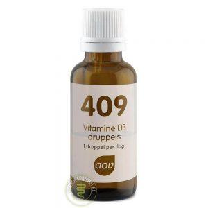 AOV 409 Vitamine D3 25mcg Druppels 15ml