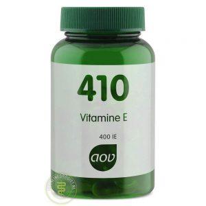 AOV 410 Vitamine E Capsules 60st