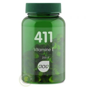 AOV 411 Vitamine E 200IE Capsules 100st