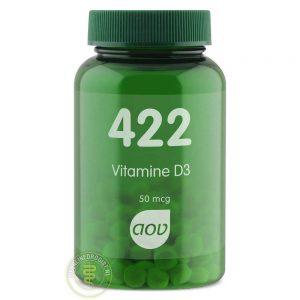 AOV 422 Vitamine D3 50mcg Tabletten 120st