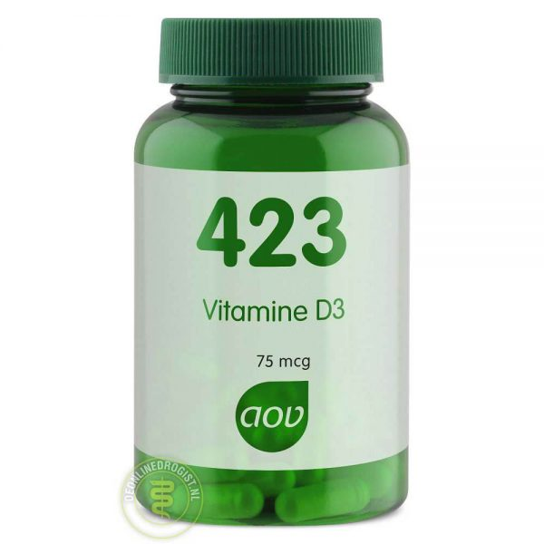 AOV 423 Vitamine D3 75mcg Capsules 90st
