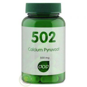 AOV 502 Calcium Pyruvaat Capsules 60st