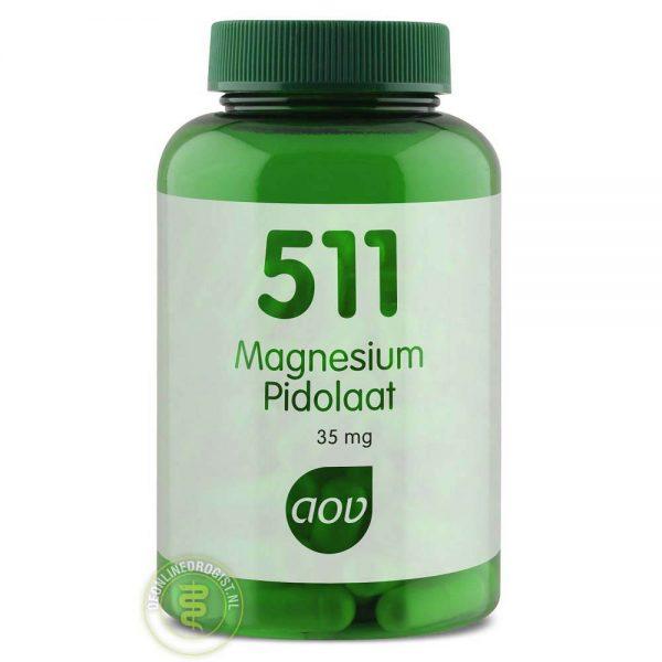 AOV 511 Magnesium Pidolaat 35mg Capsules