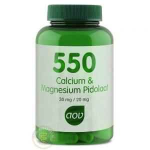 AOV 550 Calcium & Magnesium Pidolaat Capsules