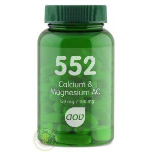 AOV 552 Calcium & Magnesium AC Tabletten 60st
