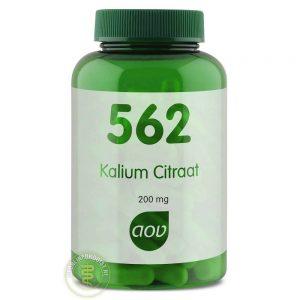 AOV 562 Kalium Citraat 200mg Vegacaps 100st