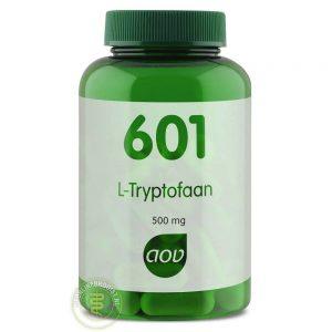 AOV 601 L-Tryptofaan Capsules 60st