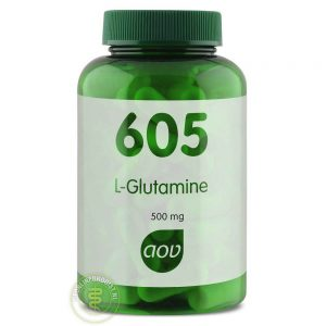 AOV 605 L Glutamine 500mg Capsules 90st