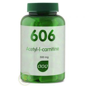 AOV 606 Acetyl L Carnitine Capsules 90st
