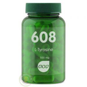 AOV 608 L Tyrosine 500mg Capsules 60st