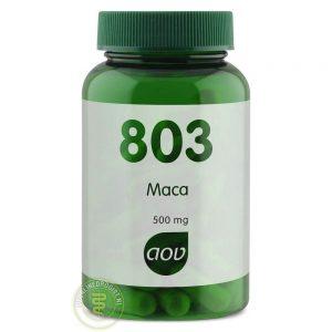 AOV 803 Maca Capsules 60st