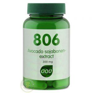 AOV 806 Avocado Sojabonen-extract 300mg Tabletten 60st