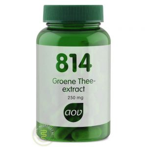 AOV 814 Groene Thee Extract 250mg Capsules 60st