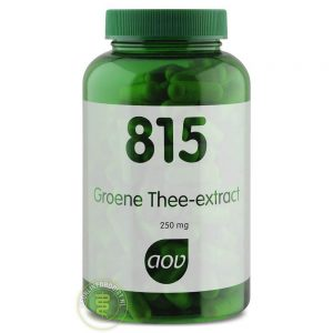 AOV 815 Groene Thee Extract 250mg Capsules 180st