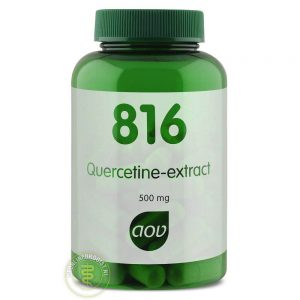 AOV 816 Quercetine Extract Capsules 60st