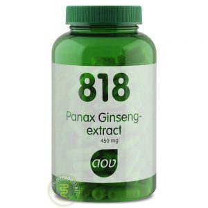 AOV 818 Panax Ginseng Extract Capsules 180st