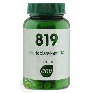AOV 819 Mariadistel Extract Capsules 90st