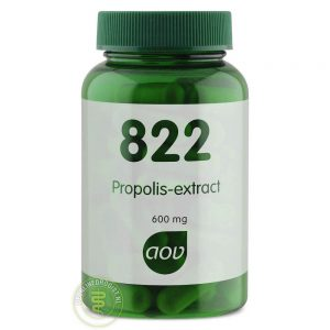 AOV 822 Propolis Extract 600mg Capsules 60st