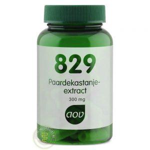 AOV 829 Paardekastanje Extract Vegacaps 60st