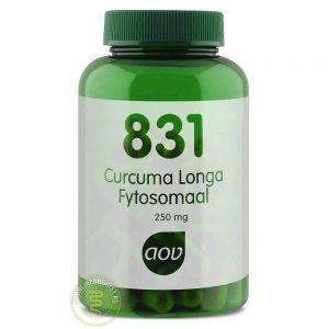 AOV 831 Curcuma Longa Fytosomaal 250mg Capsules 60st