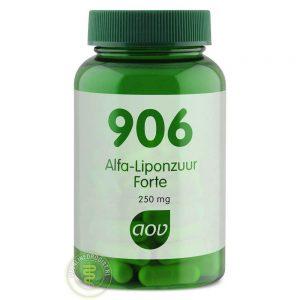 AOV 906 Alfa Liponzuur Forte Capsules